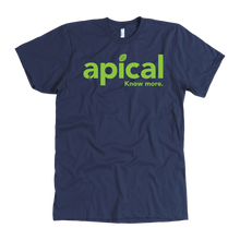Load image into Gallery viewer, teelaunch T-shirt American Apparel Mens / Navy / S Apical American Apparel Mens Tee