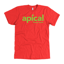 Load image into Gallery viewer, teelaunch T-shirt American Apparel Mens / Red / S Apical American Apparel Mens Tee