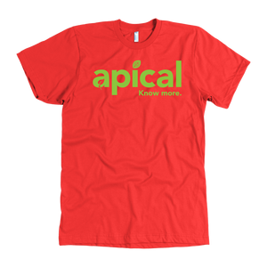 teelaunch T-shirt American Apparel Mens / Red / S Apical American Apparel Mens Tee