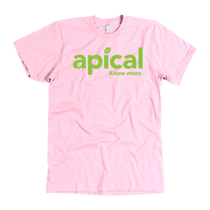 teelaunch T-shirt American Apparel Mens / Pink / S Apical American Apparel Mens Tee
