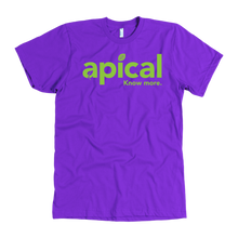Load image into Gallery viewer, teelaunch T-shirt American Apparel Mens / Purple / S Apical American Apparel Mens Tee