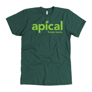 teelaunch T-shirt American Apparel Mens / Forest / S Apical American Apparel Mens Tee
