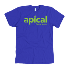 Load image into Gallery viewer, teelaunch T-shirt American Apparel Mens / Royal / S Apical American Apparel Mens Tee