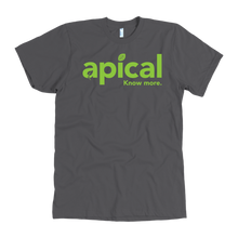 Load image into Gallery viewer, teelaunch T-shirt American Apparel Mens / Asphalt / S Apical American Apparel Mens Tee