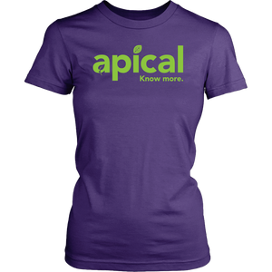 teelaunch T-shirt District Womens Shirt / Purple / XS Apical District Women's Shirt