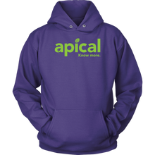 Load image into Gallery viewer, teelaunch T-shirt Unisex Hoodie / Purple / S Apical Unisex Hoodie