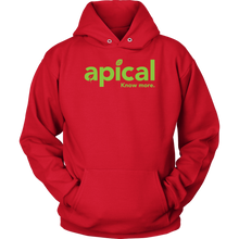 Load image into Gallery viewer, teelaunch T-shirt Unisex Hoodie / Red / S Apical Unisex Hoodie