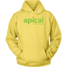 Load image into Gallery viewer, teelaunch T-shirt Unisex Hoodie / Yellow / S Apical Unisex Hoodie