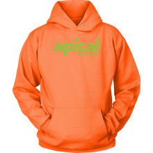 Load image into Gallery viewer, teelaunch T-shirt Unisex Hoodie / Neon Orange / S Apical Unisex Hoodie