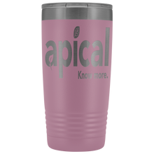 Load image into Gallery viewer, teelaunch Tumblers Light Purple Apical 20oz Vacuum Tumber