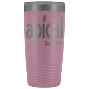 teelaunch Tumblers Light Purple Apical 20oz Vacuum Tumber