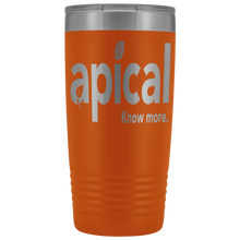 Load image into Gallery viewer, teelaunch Tumblers Orange Apical 20oz Vacuum Tumber
