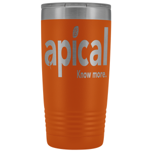 teelaunch Tumblers Orange Apical 20oz Vacuum Tumber