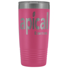 Load image into Gallery viewer, teelaunch Tumblers Pink Apical 20oz Vacuum Tumber