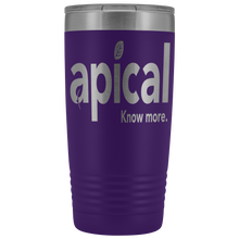 Load image into Gallery viewer, teelaunch Tumblers Purple Apical 20oz Vacuum Tumber