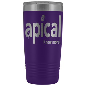 teelaunch Tumblers Purple Apical 20oz Vacuum Tumber