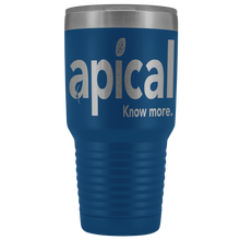 Load image into Gallery viewer, teelaunch Tumblers Blue Apical 30oz Vacuum Tumbler