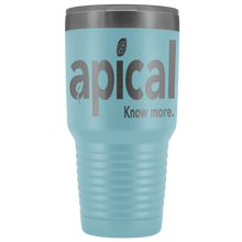 Load image into Gallery viewer, teelaunch Tumblers Light Blue Apical 30oz Vacuum Tumbler