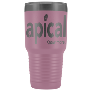 teelaunch Tumblers Light Purple Apical 30oz Vacuum Tumbler