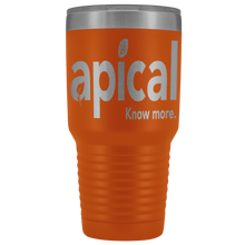 Load image into Gallery viewer, teelaunch Tumblers Orange Apical 30oz Vacuum Tumbler