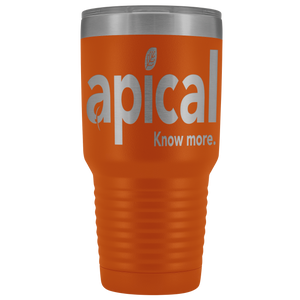 teelaunch Tumblers Orange Apical 30oz Vacuum Tumbler