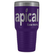 Load image into Gallery viewer, teelaunch Tumblers Purple Apical 30oz Vacuum Tumbler