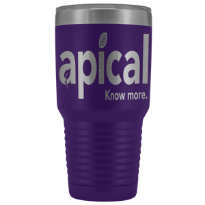 teelaunch Tumblers Purple Apical 30oz Vacuum Tumbler