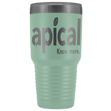 Load image into Gallery viewer, teelaunch Tumblers Teal Apical 30oz Vacuum Tumbler