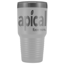 Load image into Gallery viewer, teelaunch Tumblers White Apical 30oz Vacuum Tumbler