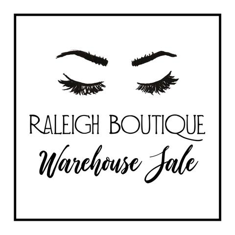 Raleigh Boutique Warehouse Sale!