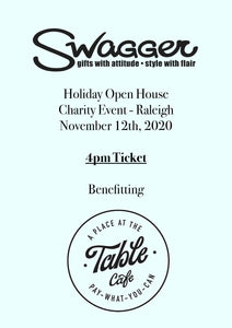 Holiday Charity Event - Raleigh 4 PM November 12th