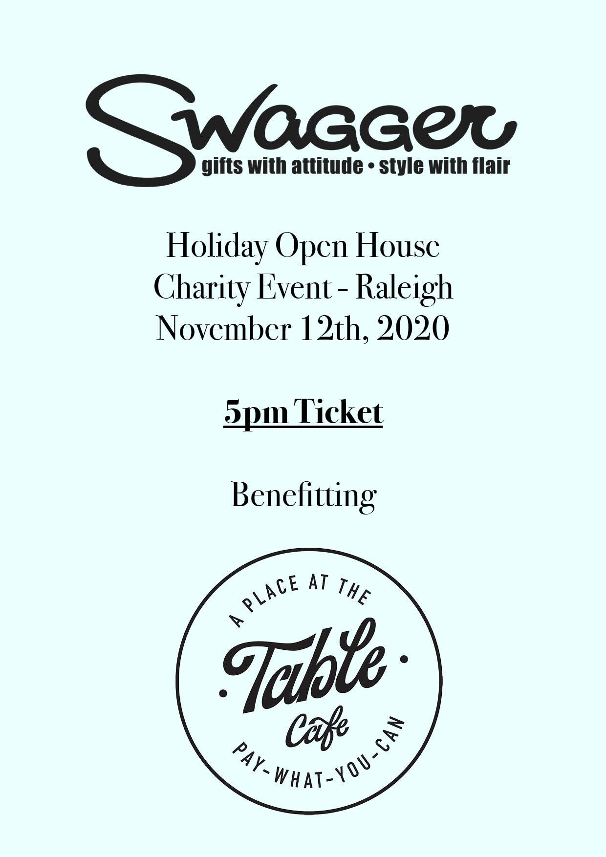 Holiday Charity Event - Raleigh 5 PM November 12th