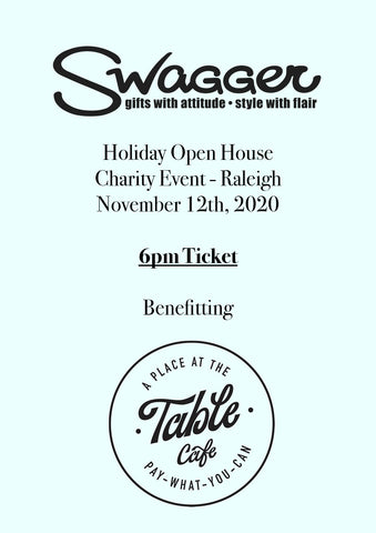 Holiday Charity Event - Raleigh 6 PM November 12th