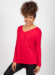 Carefree Days Red Top