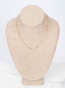 Elodie Chain Layer Necklace 16 inch