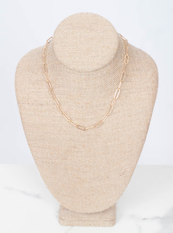 Elodie Chain Layer Necklace 16""