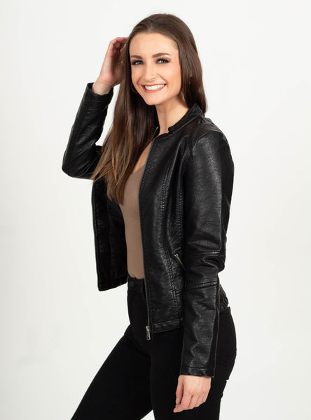 The Kendall Leather Jacket