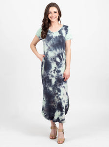 Surreal Tie Dye Maxi Dress