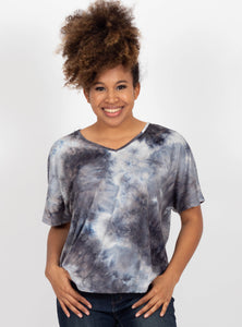 Oceans Away Tie Dye Top
