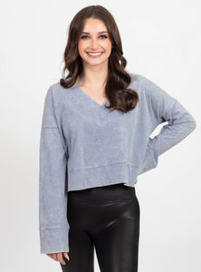 Hanging Out Indigo Sweatshirt