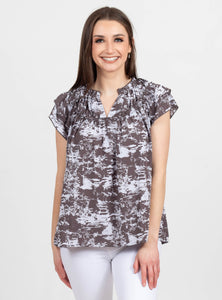 Express Yourself Lavender Printed Top