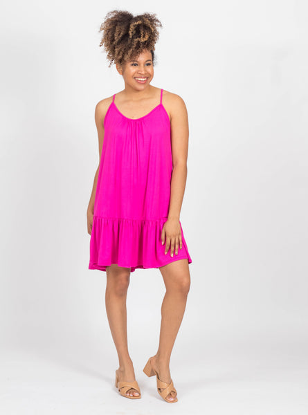 Get Obsessed Hot Pink Dress