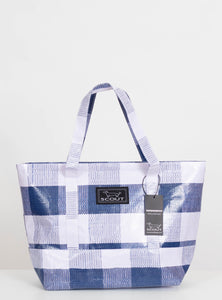 Scout Toteworthy Shoulder Bag-Navy Check