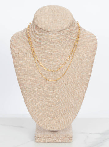 Margie Layer Necklace-Gold