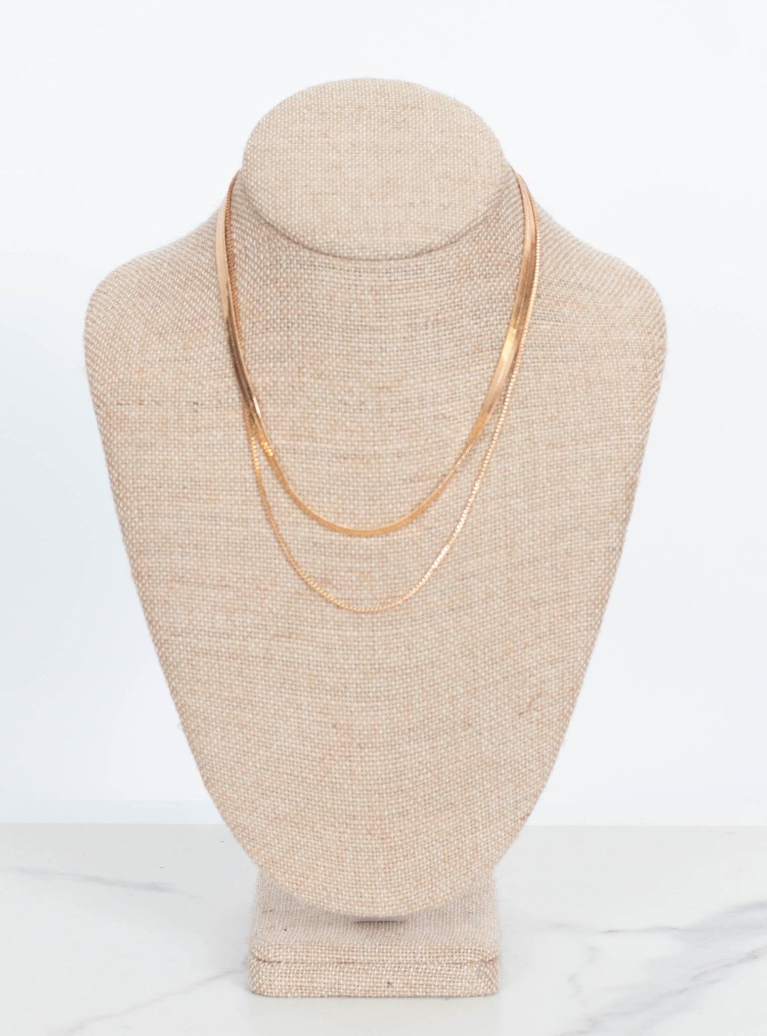 Fiona Herringbone Necklace