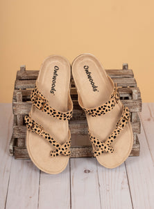 The Bork Sandals - Cheetah