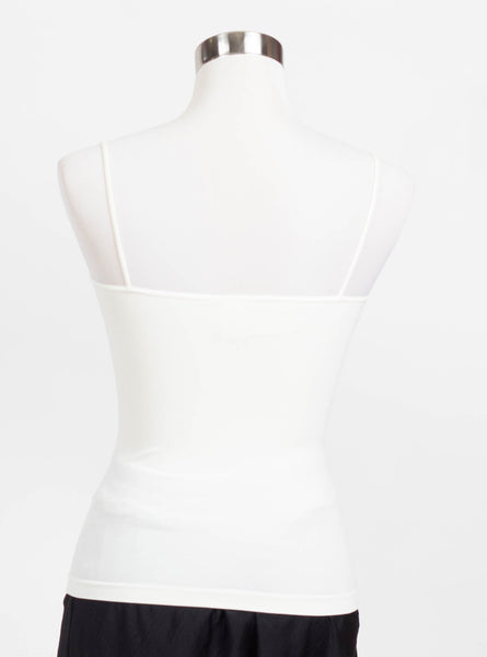 Nikibiki Thin Strap Regular Length Cami-Ivory