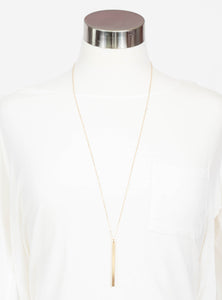 Victoria Gold Bar Necklace