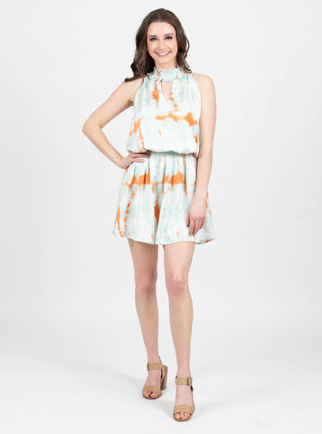 Catching Sunsets Tie Dye Dress