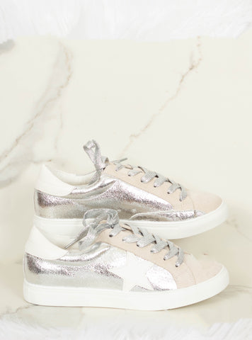 The Dale Sneakers - Silver